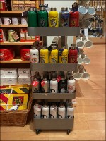 Harry-Potter Water-Bottle Tower Display