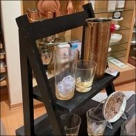 Table-Top Laddered Tableware Display