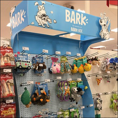 Bark-Brand Inline Gondola Display