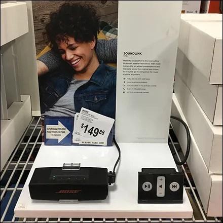 Bose Little Speaker Pick-Card Pickup