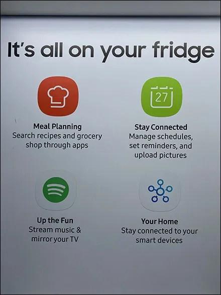 Samsung Smart Home Appliance Capabilities