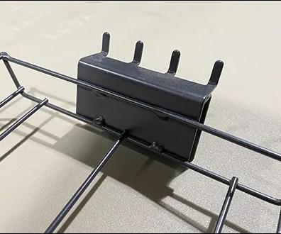 Open-Wire Tray Pegboard Backplate
