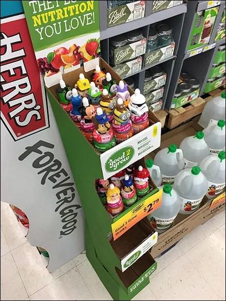 Licensed Character Beverage Merchandising