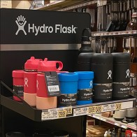 Hydro-Flask Freestanding Gondola Display