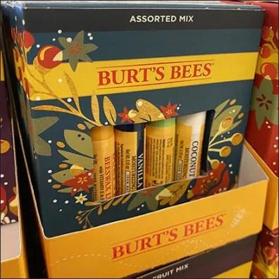 Kohls Burts Bees Festive Flavors Lip Balm Display 2