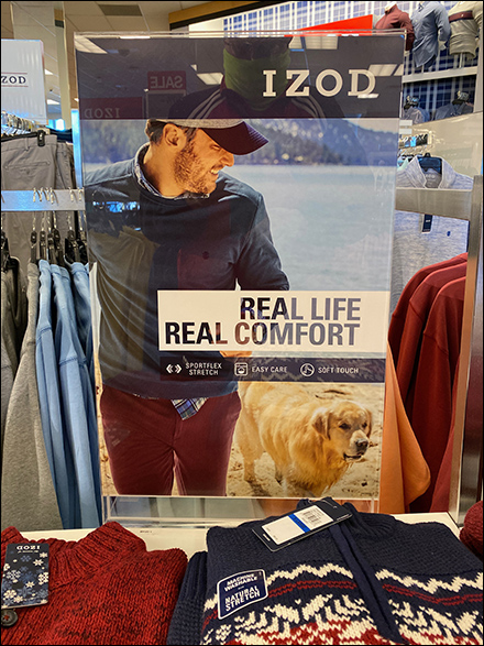 Izod Real-Life-Comfort Lifestyle Sell
