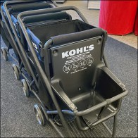 Kohl's Kid-Friendly Soft-Sided Shopping Cart