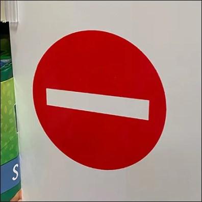 Wrong-Way Aisle Violator Traffic Control