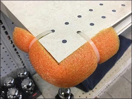 Do-It-Yourself Shelf-Corner Bumper Guard