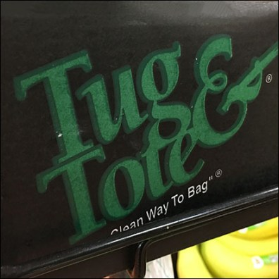 Tug-&-Tote Produce Bag Dispenser