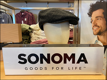 Sonoma Goods-For-Life Display Tagline