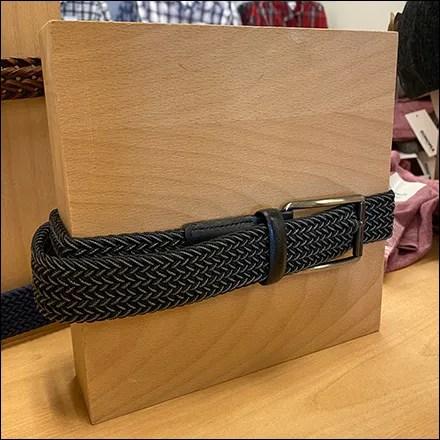 Sonoma Wood Belt Form Display