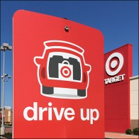 Target Drive-Up Pickup Loading Zone Signs