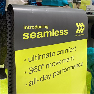 Target Seamless-For-Less All-In-Motion Wave-Profile Sign Feature2