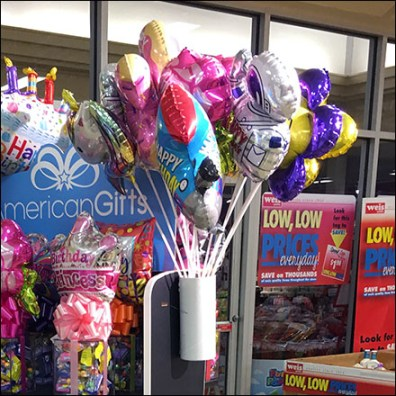 American-Gifts Display-End Balloon Quiver
