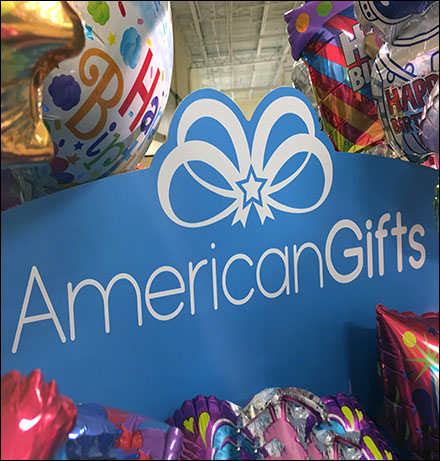 American-Gifts Freestanding Tower DisplayAmerican-Gifts Freestanding Tower Display