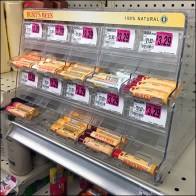 Burts Bees Gravity-Feed Lip-Balm Display