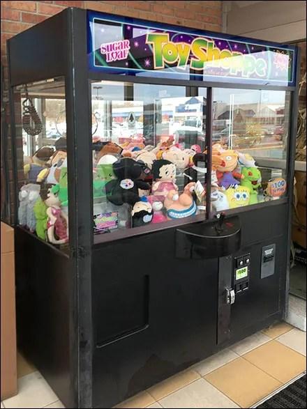 Toy Arcade Claw-Grabber Machine