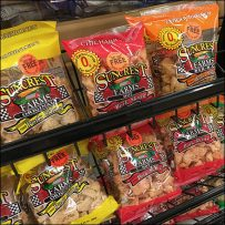 Open-Wire Pork Skins Mobile Display