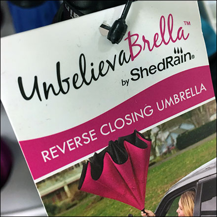 Unbelievable Umbrella End-Aisle Sidekick Display