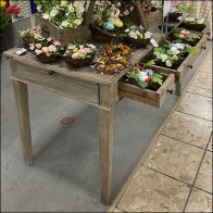 Floral Vintage Desk-Drawer Display