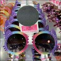Novelty Sunglasses Bar-Mount Disk-Finial Hooks