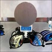 Children's Sunglasses Bar-Mount Disk-Finial Hooks