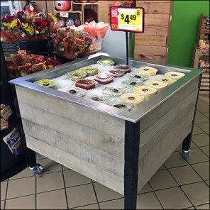 Store-Entry Iced Dips Display