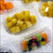 Iced Fresh Fruit Assortment Island