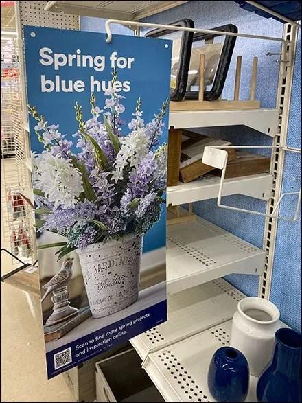 Spring-For-Blue Gondola Upright Sign