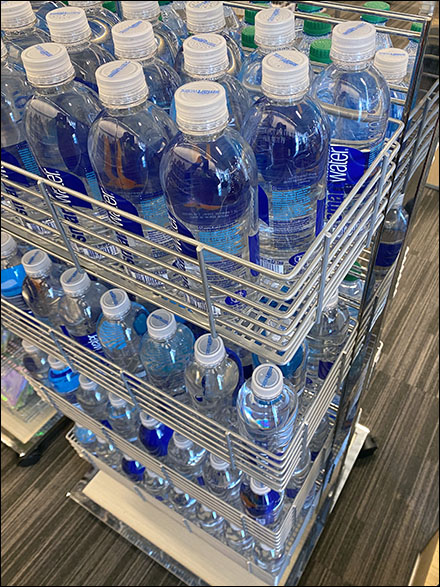 SmartWater Slatwire-Basket Grab-And-Go Tower