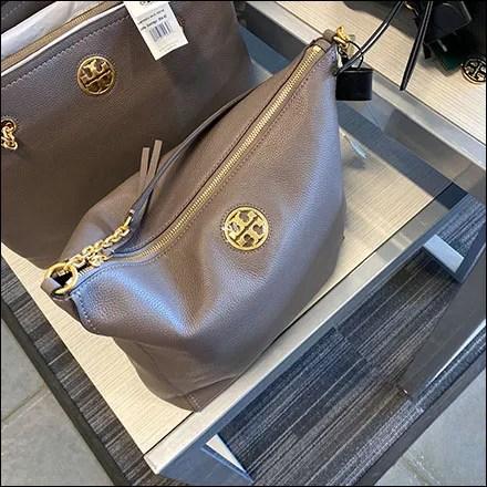 Tory-Burch Fashion Purse Merchandising Display
