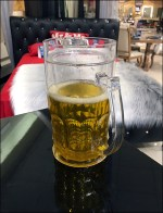 Realistic Beer-Prop Bar Furniture Staging