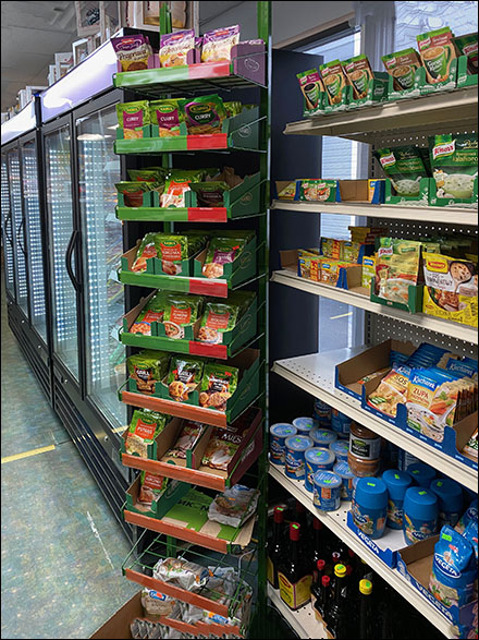 Super-Size Kamis Ethnic Food Rack