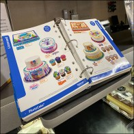 3-Ring Cake Decorating Binder