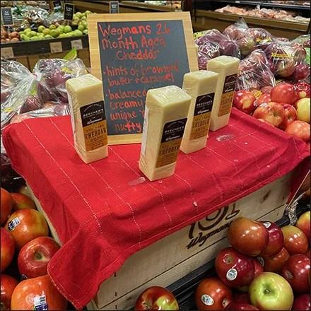 Cheddar-Cheese Stonehenge Mock-Up
