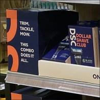 Dollar Shave Club Dimensional SignDollar Shave Club Dimensional Sign