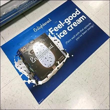 Feel-Good Ice-Cream Floor Graphic