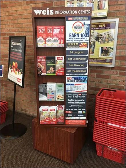 Information-Center Takeaway Brochure Tower