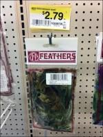 Feather Pegboard Hook Merchandising ArrayFeather Pegboard Hook Merchandising Array