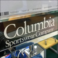 Columbia Sportswear Hangrail Median Sign