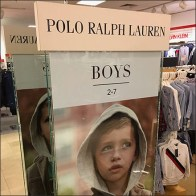 Polo-Ralph-Lauren Lifestyle Sell Sign