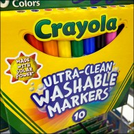 Crayola Powdercoated Metal-Plate Scan Hook