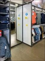 Old Navy Walk-In Fitting Room Design