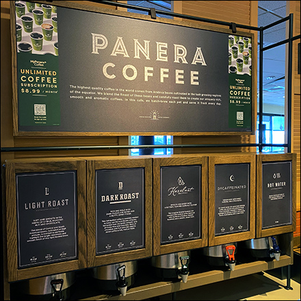 Panera Bread Coffee Bar Outfitting