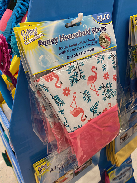 Spring-Cleaning Fancy Household Glove Pitch