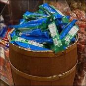 Gourmet-Food Candy Bulk Bin Barrel