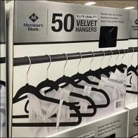Velvet Clothes Hanger Pallet Proposition