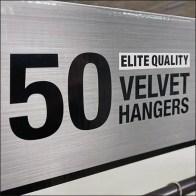 Velvet Clothes Hanger Pallet PropositionVelvet Clothes Hanger Pallet Proposition