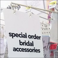 Bridal Accessories Gondola Sign-Arm